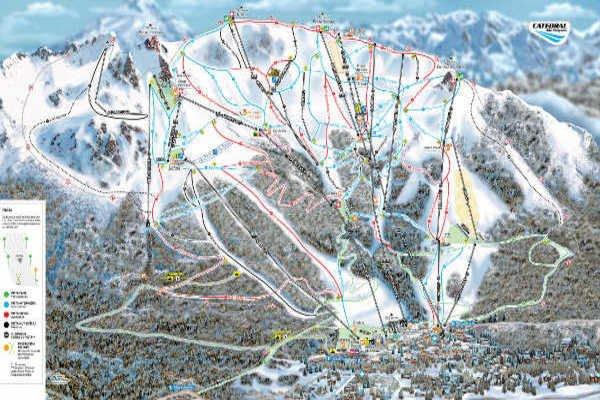 Pistas Centro de Ski Cerro Catedral