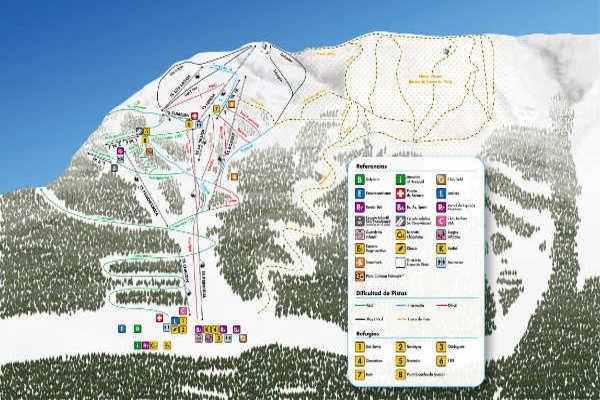 Pistas Centro de Ski Cerro Bayo