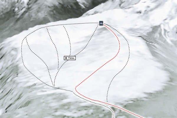 Pistas Centro de Ski Cerro Perito Moreno
