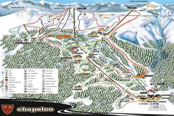 Pistas Centro de Ski Chapelco