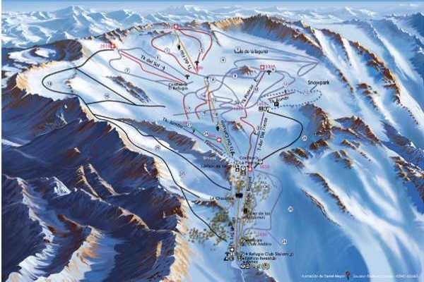Pistas Centro de Ski La Hoya