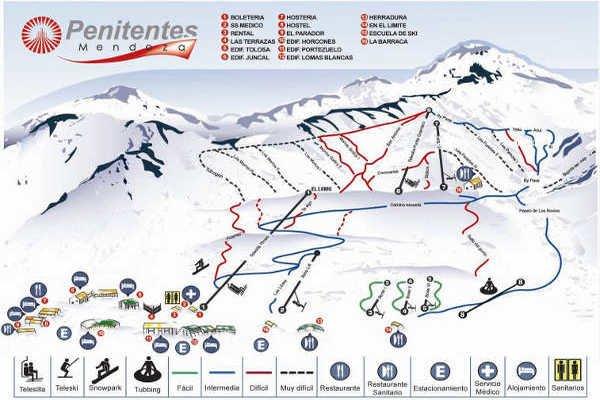 Pistas Centro de Ski Penitentes
